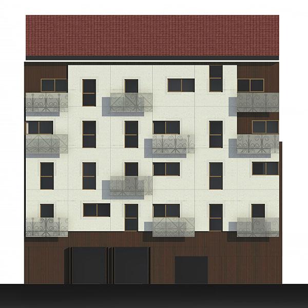 18 viviendas de realojo